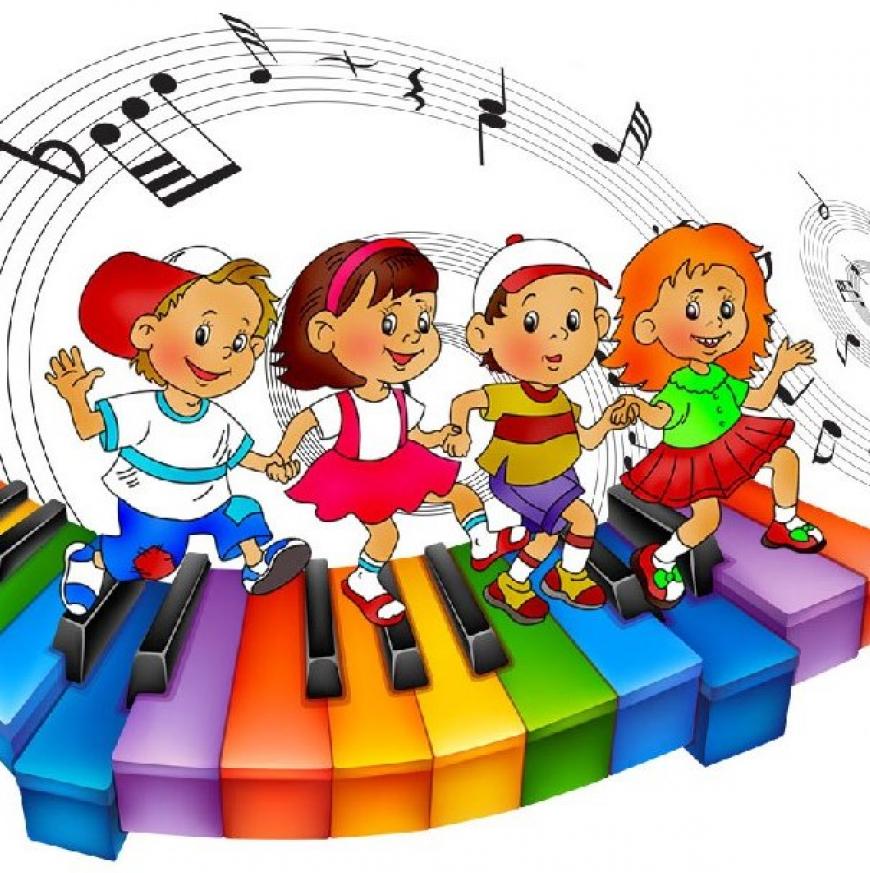 Картинка музыкального работника в детском саду